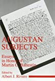 Battestin, Martin C.: Augustan Subjects: Essays in Honor of Martin C. Battestin