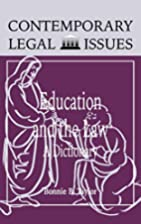 Education and the Law: A Dictionary…
