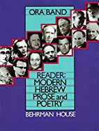 Reader: Modern Hebrew Prose and Poetry by…