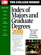 Index of Majors and Graduate Degrees 2000…