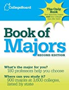 The College Board Book of Majors by The…