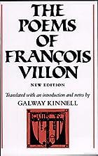 The Poems of Francois Villon by François…