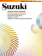 Suzuki: Duets for Violins by Shinichi Suzuki