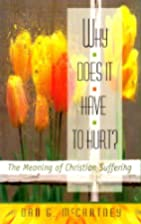 Why Does It Have to Hurt?: The Meaning of…