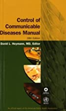 Control Of Communicable Diseases Manual by…