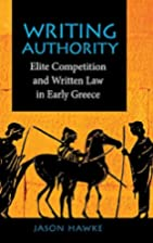 Writing Authority: Elite Competition and…