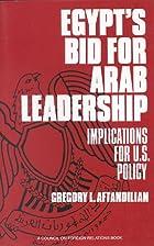Egypt's Bid for Arab Leadership:…