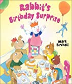 Rabbit's Birthday Surprise (Picture Books)…