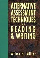 Alternative Assessment Techniques for…