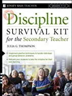 Discipline Survival Kit for the Secondary…