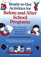 Ready-to-Use Activities for Before and After…