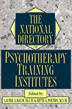The National directory of psychotherapy…