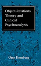 Object Relations Theory and Clinical…