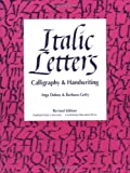 Getty, Barbara: Italic Letters: Calligraphy and Handwriting