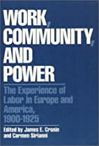 Work, community, and power : the experience…