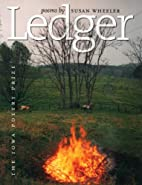 Ledger (Iowa Poetry Prize) by Susan Wheeler