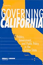 Governing California: Politics, Government,…