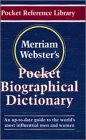 [???]: Merriam-Webster's Pocket Biographical Dictionary