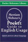 [???]: Merriam-Webster's Pocket Guide to English Usage