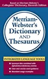 Merriam-Webster, Inc: Merriam-webster's Dictionary And Thesaurus