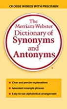 The Merriam-Webster Dictionary of Synonyms…