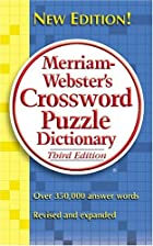 Merriam-Webster's Crossword Puzzle…
