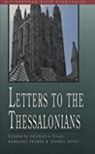 Letters to the Thessalonians (Bible Study…