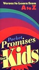 Pocket Promises for Kids (Pocketpac Books)…
