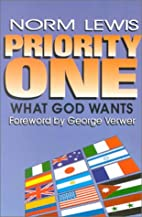 Priority One: What God Wants / Faith Promise…