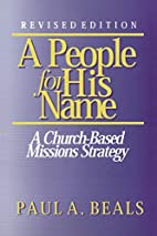 A People for His Name: A Church-Based…