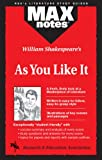 Morrison, Michael: As You Like It (MAXNotes Literature Guides)