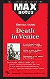 Sax, Boria: Death in Venice (MAXNotes Literature Guides)