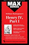 Modugno, Michael A.: Henry IV, Part I (MAXNotes Literature Guides)