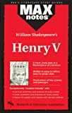 Pease, Nick: Henry V (MAXNotes Literature Guides)