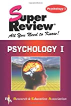 Psychology I Super Review by The Staff of…