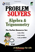 Algebra & Trigonometry Problem Solver by…