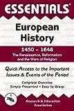 Horstman, Allen: European History: 1450 to 1648 Essentials (Essentials Study Guides)