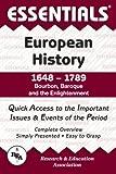 Burnside, William H.: Essentials of European History, 1648-1789: Bourbon, Baroque and the Enlightenment (Essentials Study Guides)