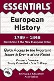 Barrett, John W.: Essentials of European History, 1789-1848: Revolution and the New European Order