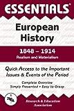 Walker, William T.: European History: 1848 to 1914 Essentials (Essentials Study Guides)
