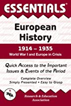 The Essentials of European History,…