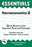 Research & Education Association: The Essentials of Macroeconomics, Vol. 2