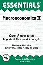 Macroeconomics: v. 2 (Essential Series) by…