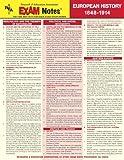 The Editors of REA: EXAMNotes for European History 1848 - 1914 (EXAMNotes)