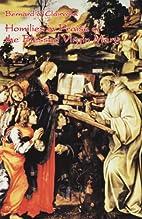 Bernard of Clairvaux: Homilies in Praise of…