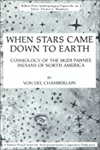 When Stars Came down to Earth: Cosmology of…