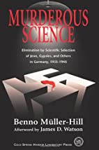 Murderous Science by Benno Müller-Hill