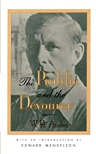 The Prolific And The Devourer by W. H. Auden