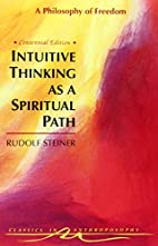 Intuitive Thinking As a Spiritual Path : A…