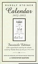 Calendar 1912-1913: Facsimile Edition of the…